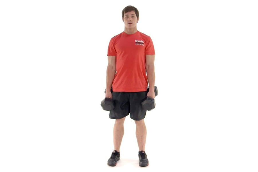 MOVEMENT TIP: The Dumbbell Hang Clean and Push Jerk